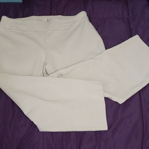 Low rise, stretchy cropped pants